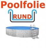 4,00 x 1,50 m x 1,0 mm Poolfolie rund mit Einhängebiese