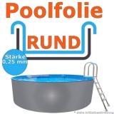 Ersatzfolie rund 300 x 0,92 cm x 0,25 Poolfolie Innenfolie Pool