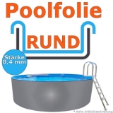 Ersatzfolie rund 350 x 120 cm x 0,4 Poolfolie Innenhülle Pool