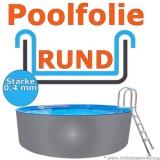 Ersatzfolie rund 550 x 120 cm x 0,4 Poolfolie Innenhülle Pool