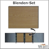 Germany-Pools Wall Blende A Tiefe 1,20 m Edition Wood