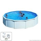 Pool 3,50 x 1,20 m STARK1 Plus Breiter Handlauf