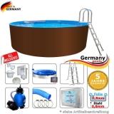 Pool 400 x 125 cm Set