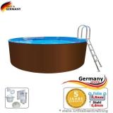 Pool 6,4 x 1,25 m