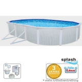 Pool 7,3 x 3,6 x 1,2 m Breiter Handlauf 15 cm