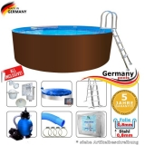 Pool 800 x 125 cm Set