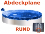 Pool Abdeckplane 7,0 - 7,3 m Poolabdeckung 700 Winterplane rund 730