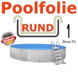 Poolfolie 350 x 135 cm x 0,8 Keilbiese Sand