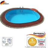 Schwimmbecken 6,3 x 3,6 x 1,35 m