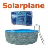 Solarplane 8,5 x 4,9 m pool oval 850 x 490 cm Solarfolie