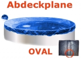 Ovalbecken Stein 7,3 x 3,6 x 1,20 m Komplettset