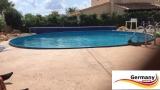 Schwimmingpool 4,6 x 1,2 Ziegel-Optik