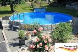Schwimmingpool 3,6 x 1,2 Ziegel-Optik