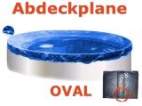 Ovalbecken 6,3 x 3,6 x 1,35 m Set
